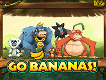 Новый видеослот Go Bananas для гостей онлайн-казино