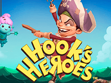 Азартная игра Hook's Heroes в зале интернет-казино