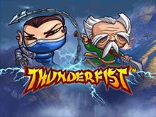 Виртуальный симулятор Thunderfist в зале казино
